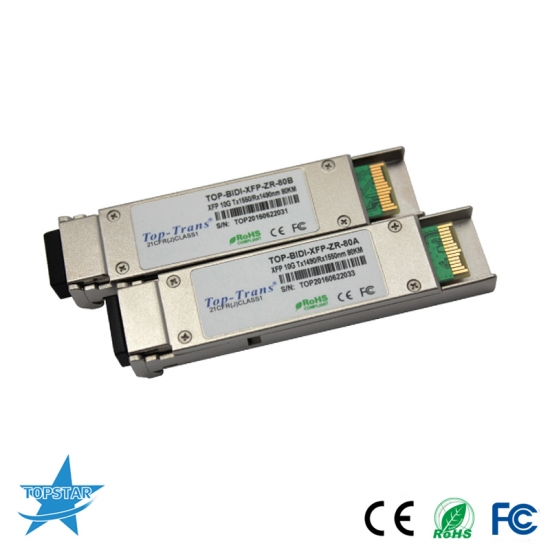 XFP BIDI 10G Fiber Optic Transceiver