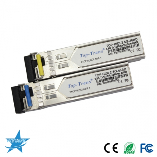 2.5G Multi-rate BIDI SFP